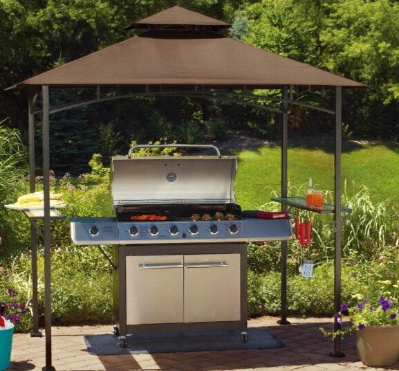 Replacement Canopy for Grill Shelter & Sunjoy Replacement Canopy for Grill Shelter u0026 Reviews | Wayfair