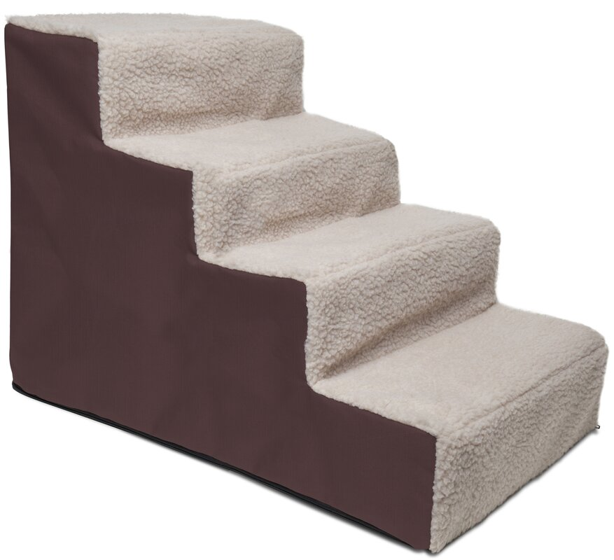 Portable 4 Step Pet Stair