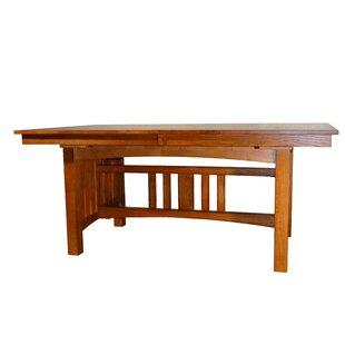 Taj Solid Oak Mission Dining Table