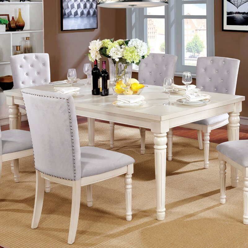 Admirable Briony Transitional Dining Table Home Interior And Landscaping Synyenasavecom