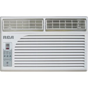 6000 BTU Window Mounted Air Conditioner with Remote