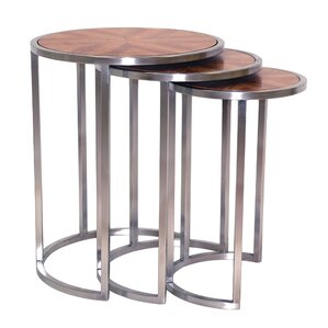Greta 3 Piece Nesting Tables by Allan Copley..