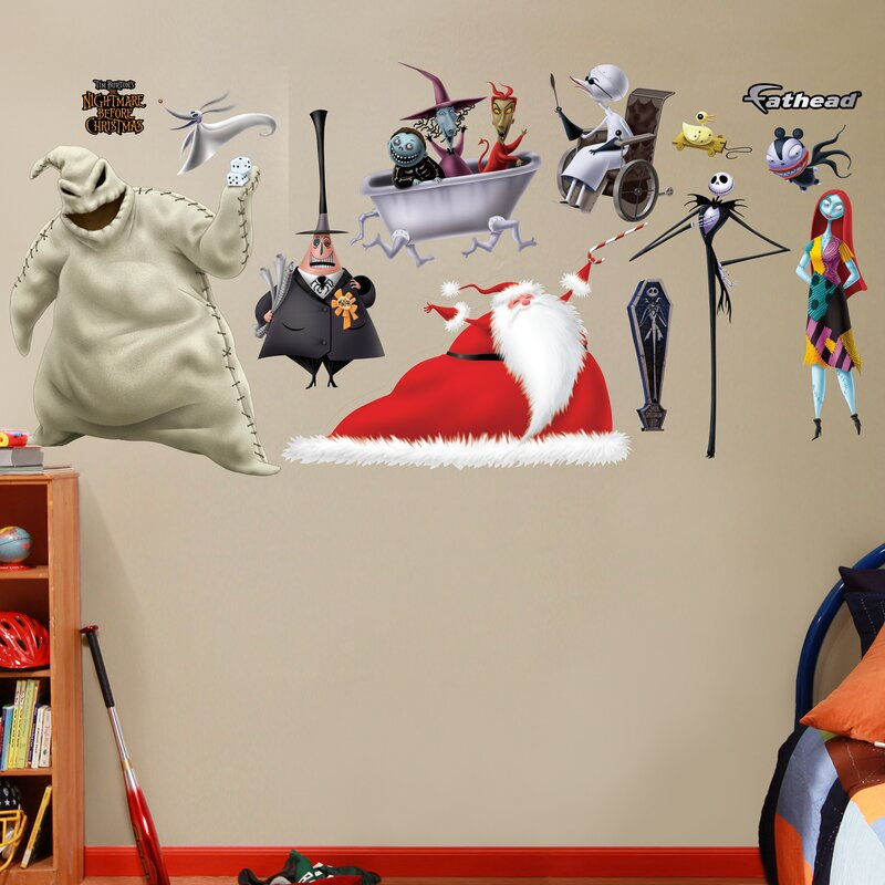 Elegant Disney Nightmare Before Christmas Wall Decal Part 23