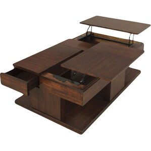 Dail Coffee Table With Double Lift Top