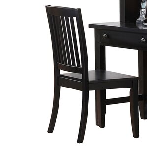 Blackwell Solid Wood Dining Chair by Alcott Hill