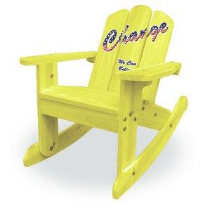 Kids Rocking Chair by Lohasrus