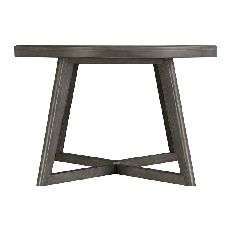 Laurel Foundry Modern Farmhouse Bayle Solid Wood Dining Table Reviews Wayfair