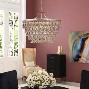 Bramers 6 Light Novelty Chandelier