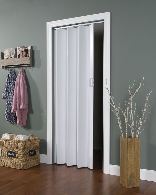 Accordion Interior Doors Youll Love Wayfair