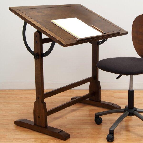 & Studio Designs Vintage Wood Drafting Table u0026 Reviews | Wayfair islam-shia.org