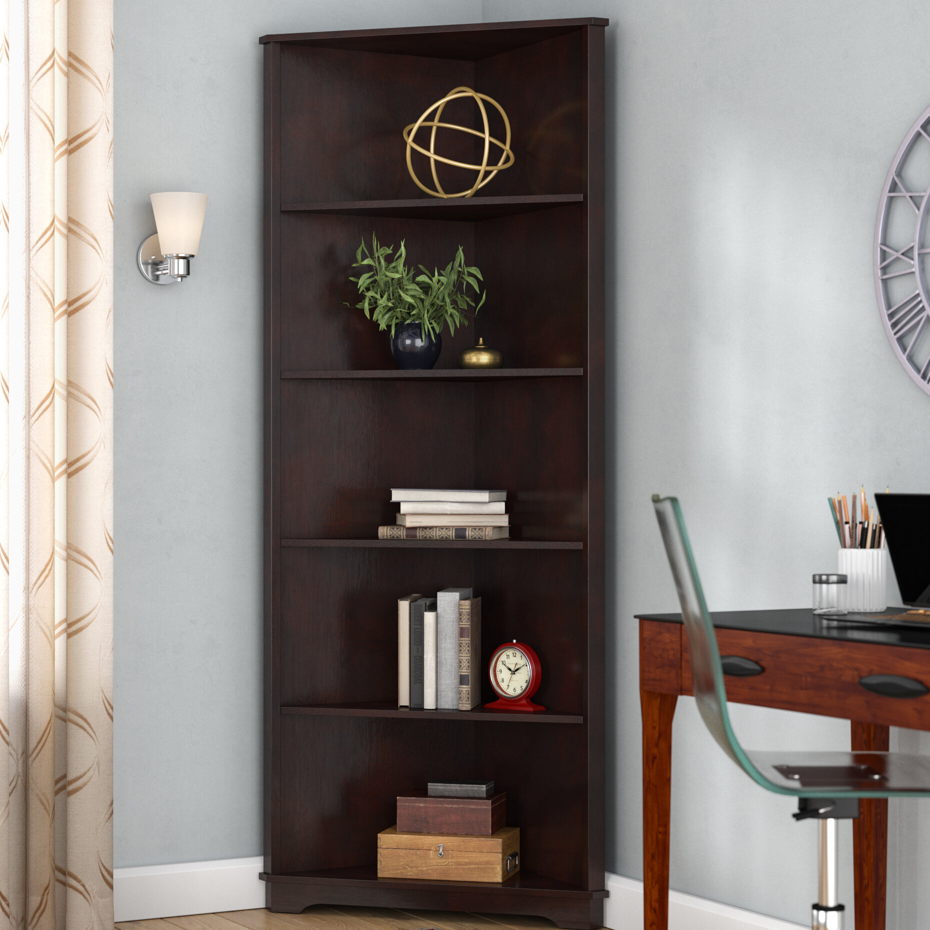Red Barrel Studio Tauranac Corner Unit Bookcase Reviews