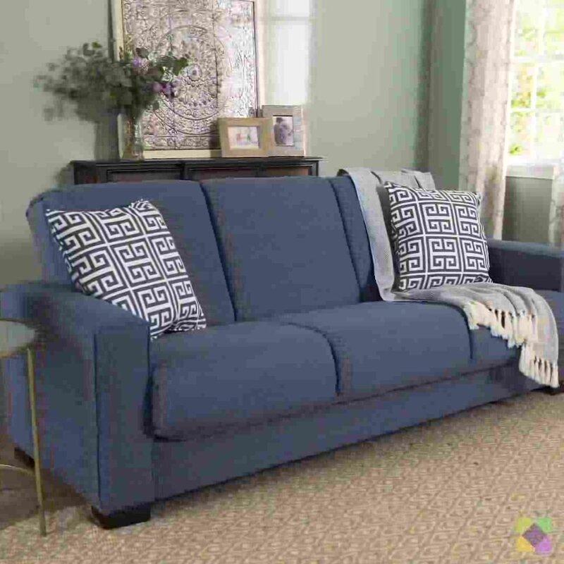 Brayden Studio Swiger Convertible Sleeper Sofa Amp Reviews