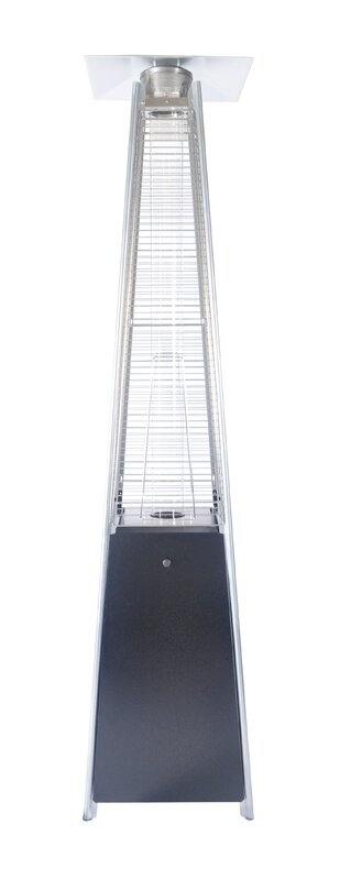 Flame 4 000 Btu Standing Patio Heater