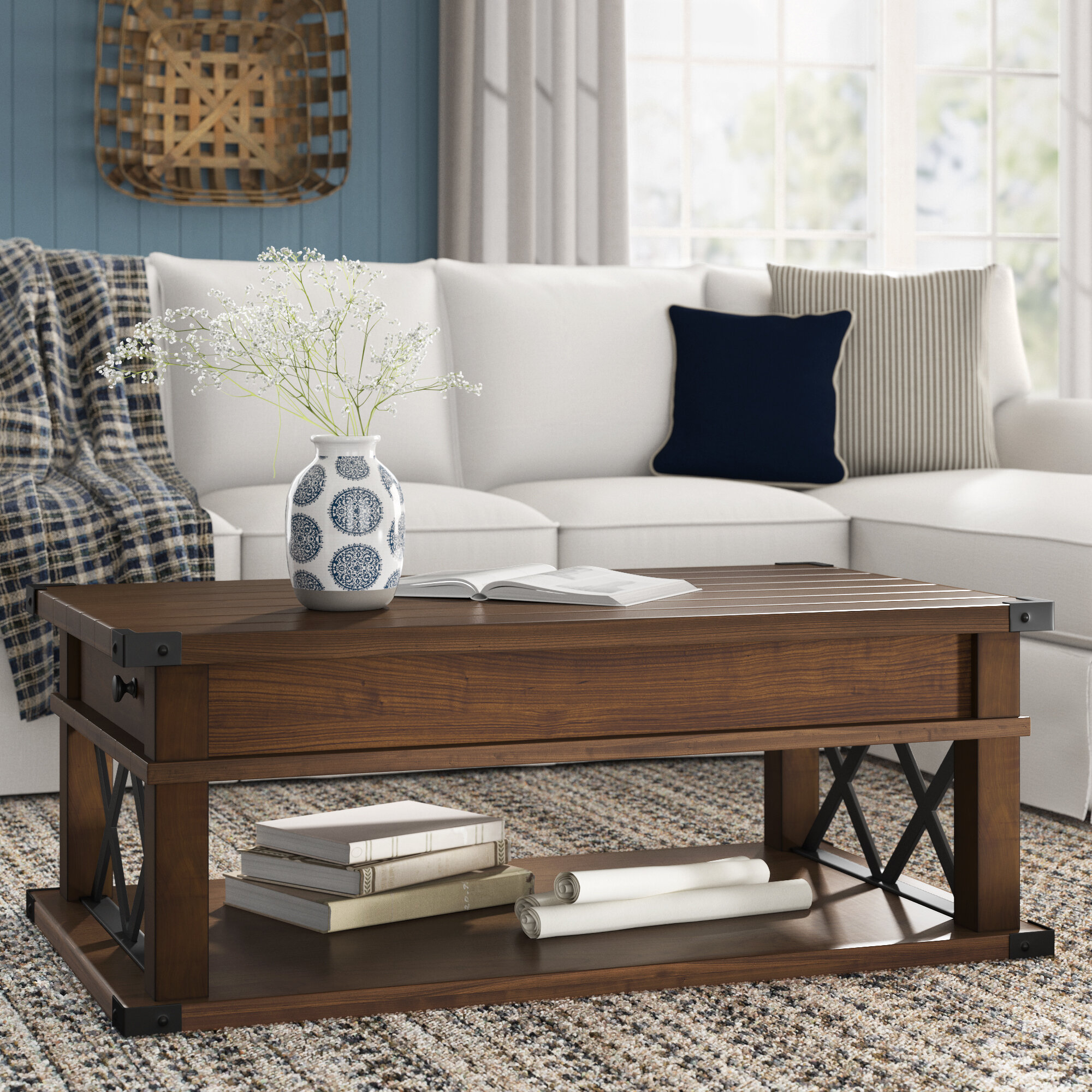 Birch Lane Heritage Bridget Lift Top Coffee Table Reviews Birch