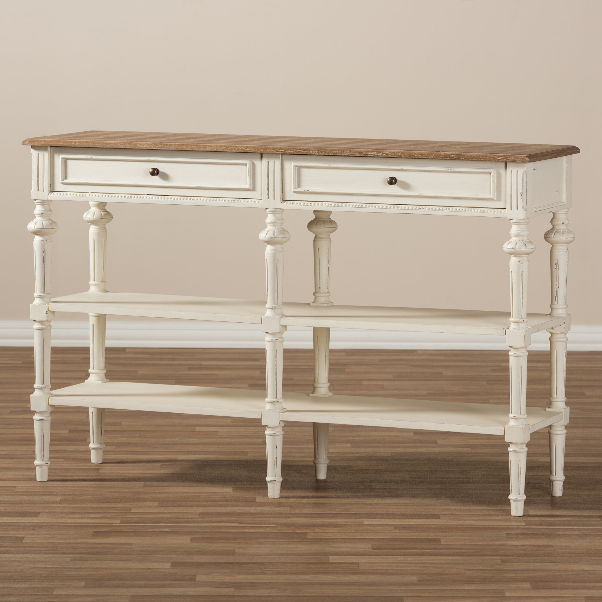 Wholesale Interiors Rogero French Provincial Console Table | Wayfair