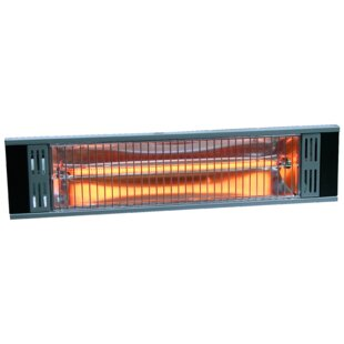 Tradesman Outdoor 1500 Watt Electric Mounted Patio Heater. By Heat Storm