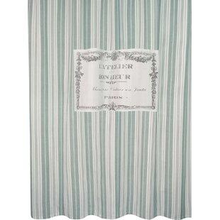 Great Metro Farmhouse Cotton Bonheur Shower Curtain