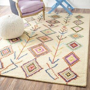 Yadi Wool Hand-Tufted Area Rug