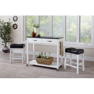 Bergland 3 Piece Kitchen Island Set