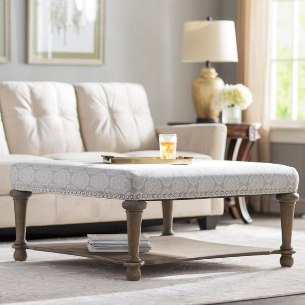 Ottoman Coffee Table With Sliding Wood Top: Darby Home Co Refrenshire Cocktail Ottoman & Reviews