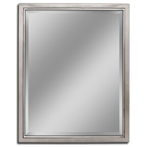 Kennith Classic Metal Framed Bathroom/Vanity Wall Mirror