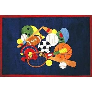 Awesome Supreme American Sports Area Rug