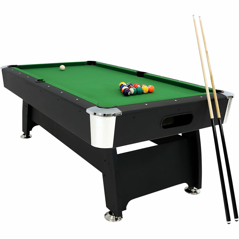 Charmant SunnyDaze Decor 7u0027 Pool Table With Ball Return U0026 Reviews | Wayfair