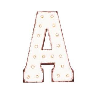34e204a5438 White Marquee Letters