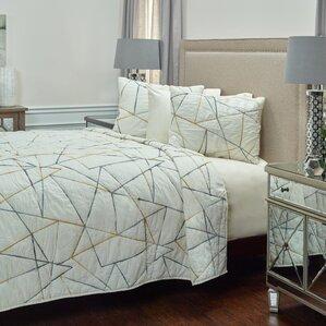 Mid-Century Modern Quilts & Coverlets You'll Love   Wayfair : modern bedroom quilts - Adamdwight.com