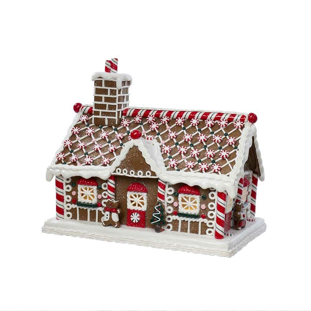 kurt adler gingerbread candy house reviews wayfair