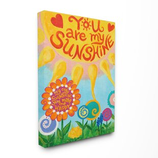 Toby You Are My Sunshine Canvas Wall Art
