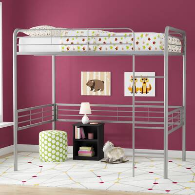 Harriet Bee Almeda Cheatham Full Over Full Bunk Bed Wayfair