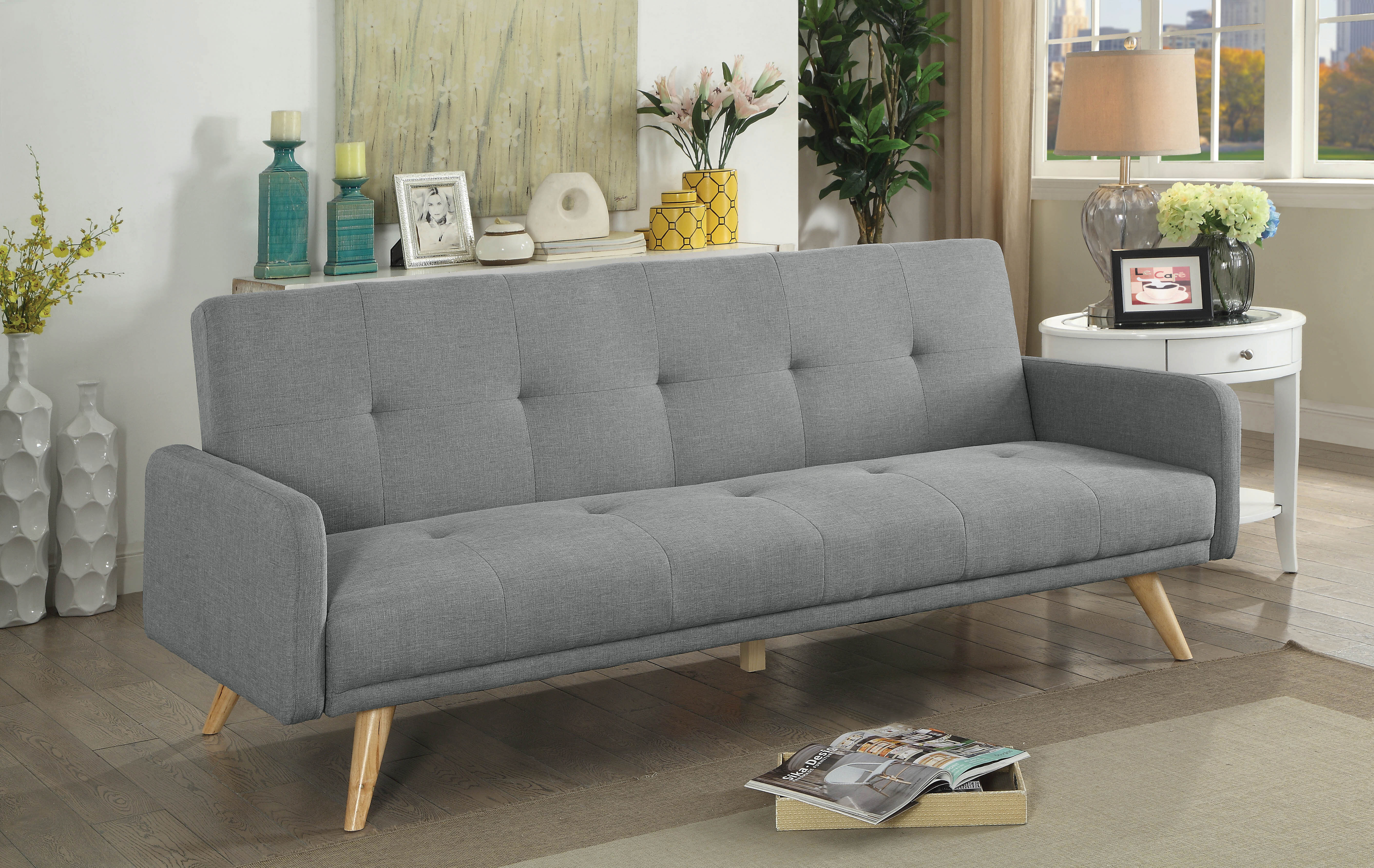 mattress furniture and pdx long reviews pocket coil wayfair extra company gel futons futon mozaic suede