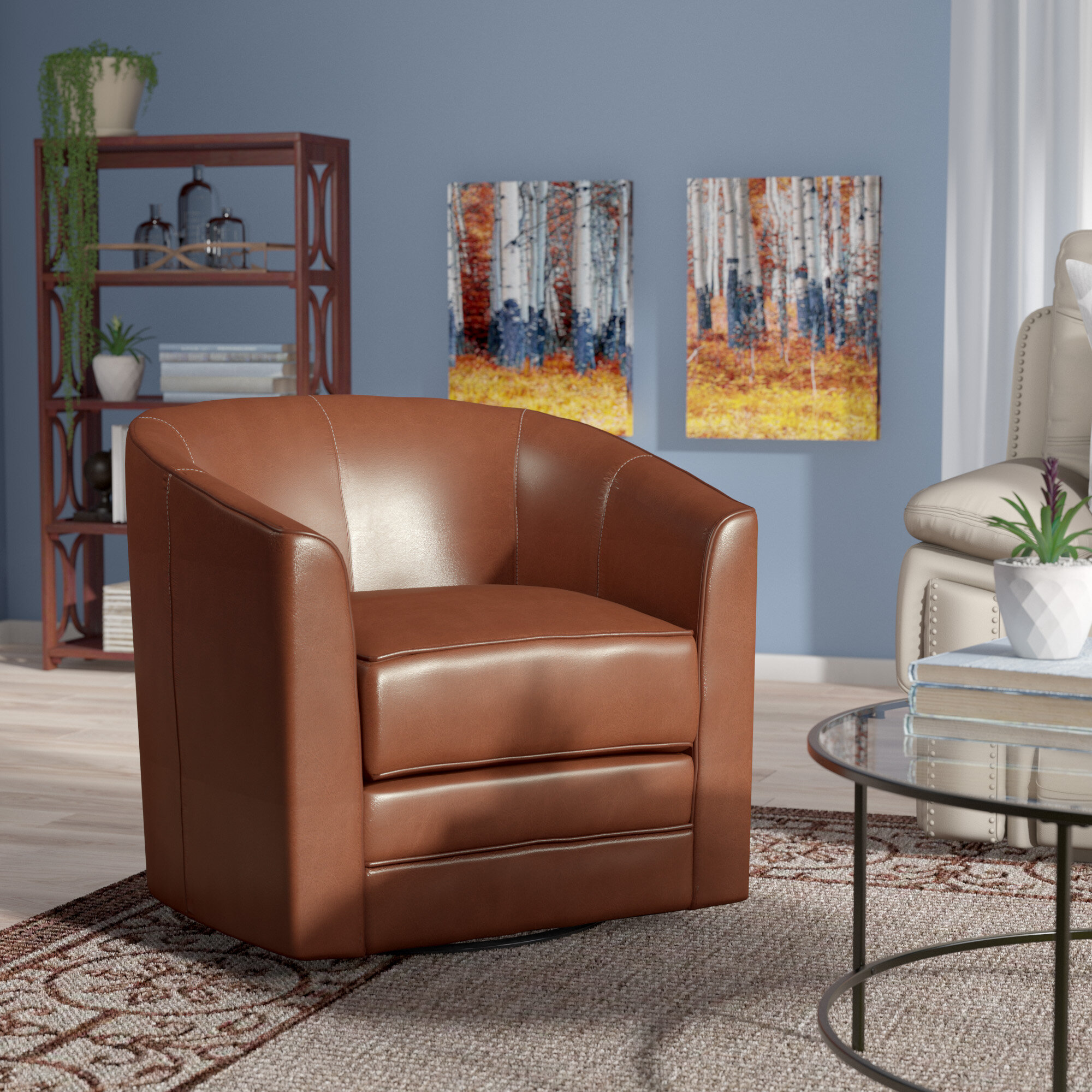 Swivel Tub Chairs Accent Chair Smallswivelaccentchair