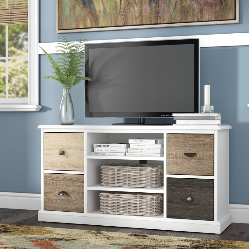 """Red Barrel Studio Snowy Mountain 47"""" TV Stand & Reviews"""