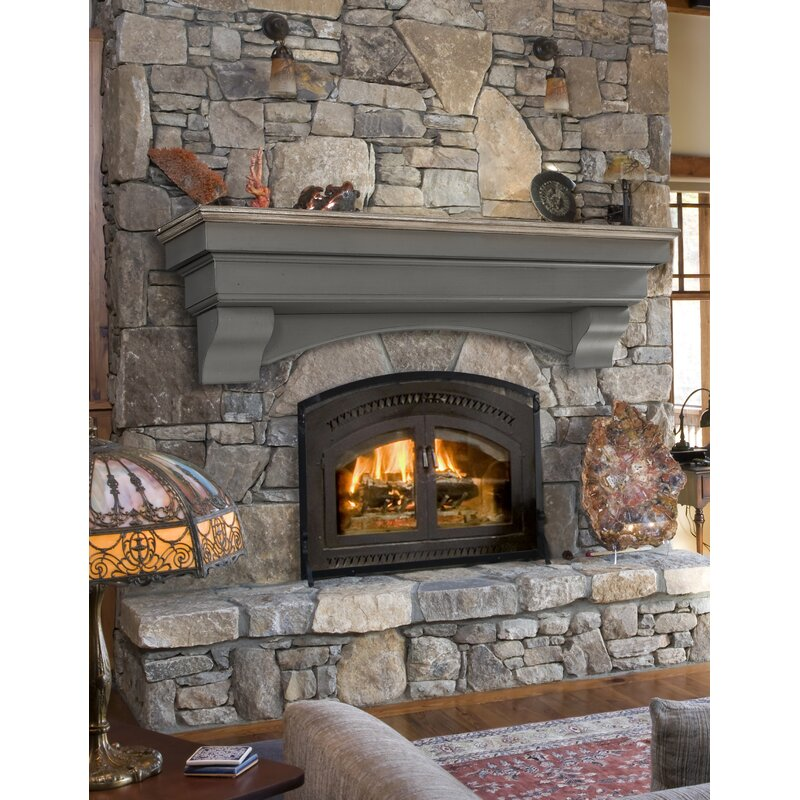 Pearl Mantels Hadley Fireplace Shelf Mantel Amp Reviews