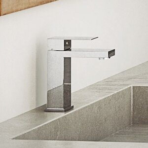 Essential Style Centerset Single Handle Bathroom Faucet