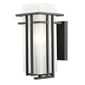 Abbey 1-Light Outdoor Sconce