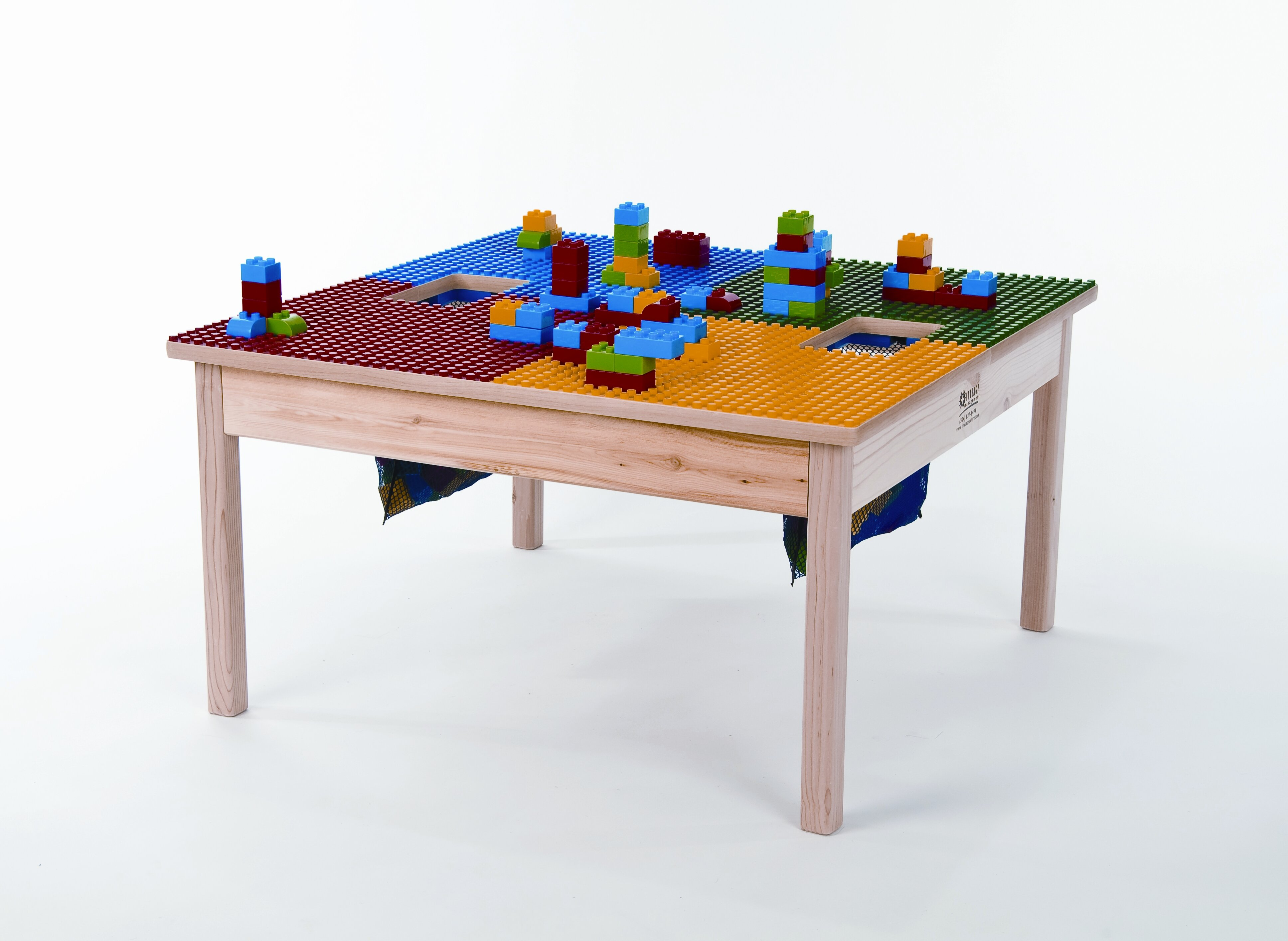 Magnificent Kids Lego Table With Storage Wayfair Download Free Architecture Designs Sospemadebymaigaardcom