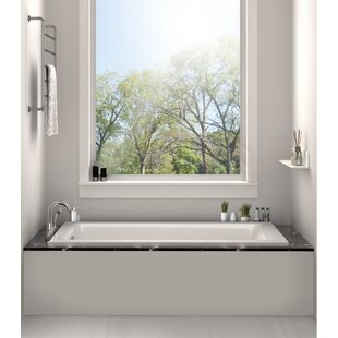soaking tub shower combo wayfair