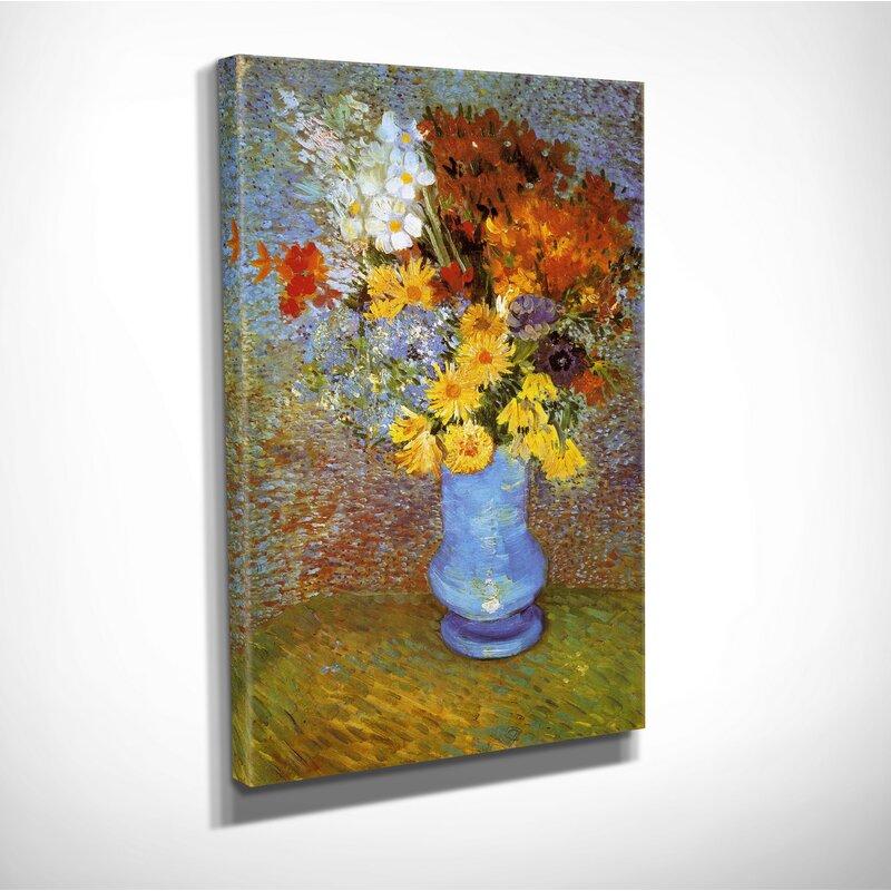 Wexfordhome Vase Of Flower By Vincent Van Gogh Print Of Painting