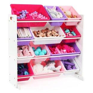 Kid Toy Storage Organizer  sc 1 st  Wayfair & Toy Storage For Living Room | Wayfair