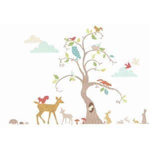 Marvelous Woodland Tree Room Décor Kit Wall Decal Good Ideas