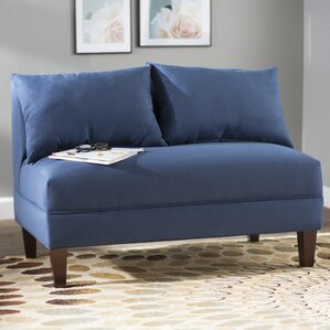 Boyd Armless Loveseat by Latitude Run