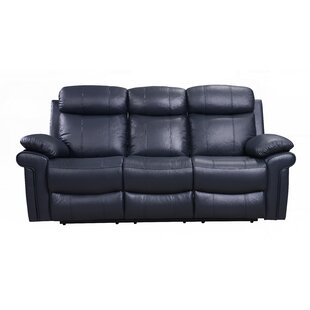 Asbury Leather Reclining Sofa