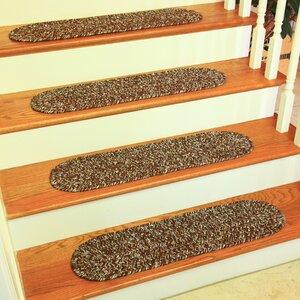 Ceridwenne Brown Indoor/Outdoor Stair Tread (Set of 13)