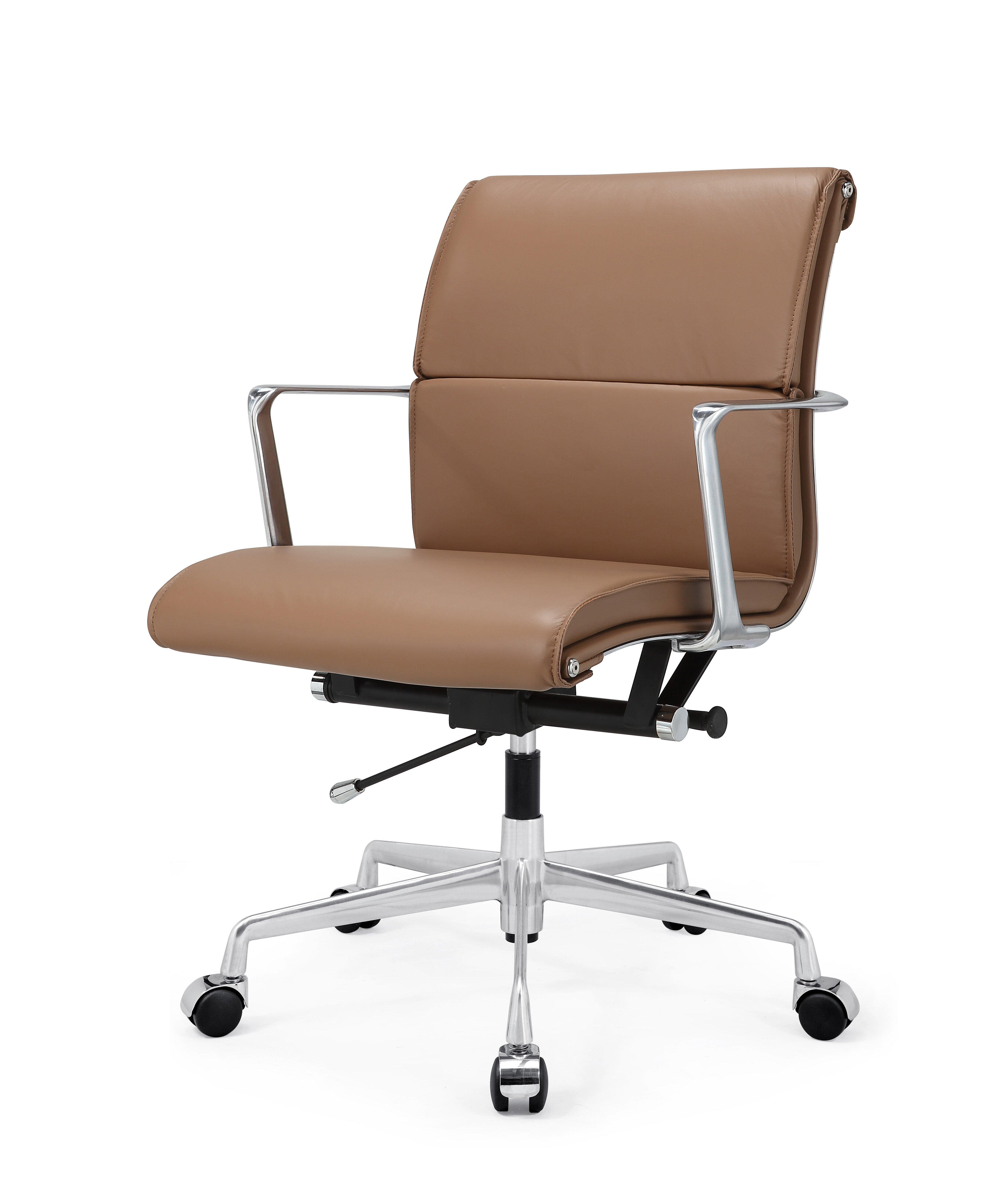 Delicieux Tan Leather Desk Chair | Wayfair