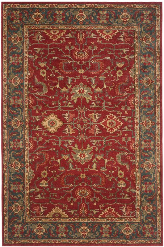 Charlton Home Coleraine Red Area Rug Amp Reviews Wayfair