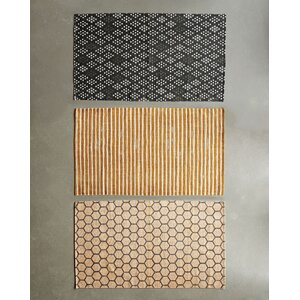 Honey & Gray Area Rug (Set of 3)
