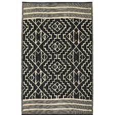 alana blackbeige area rug - Colorful Area Rugs